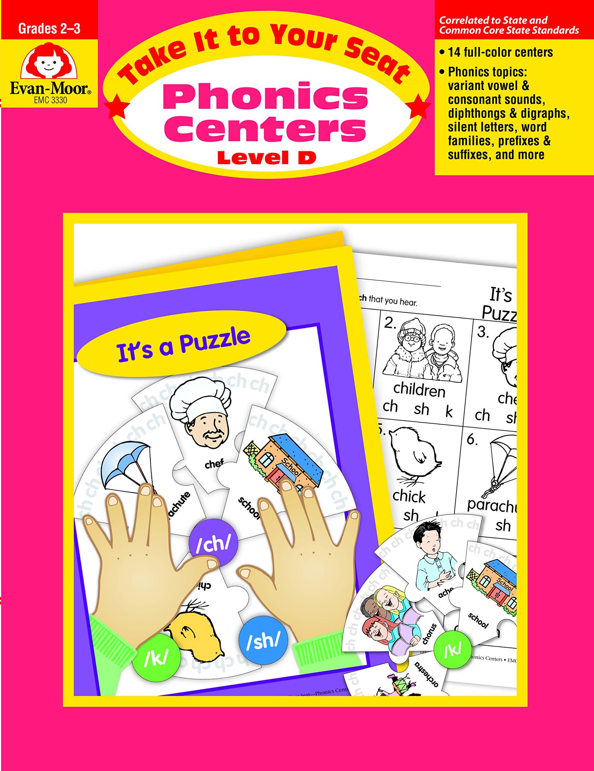 Phonics Centers Grades 2-3