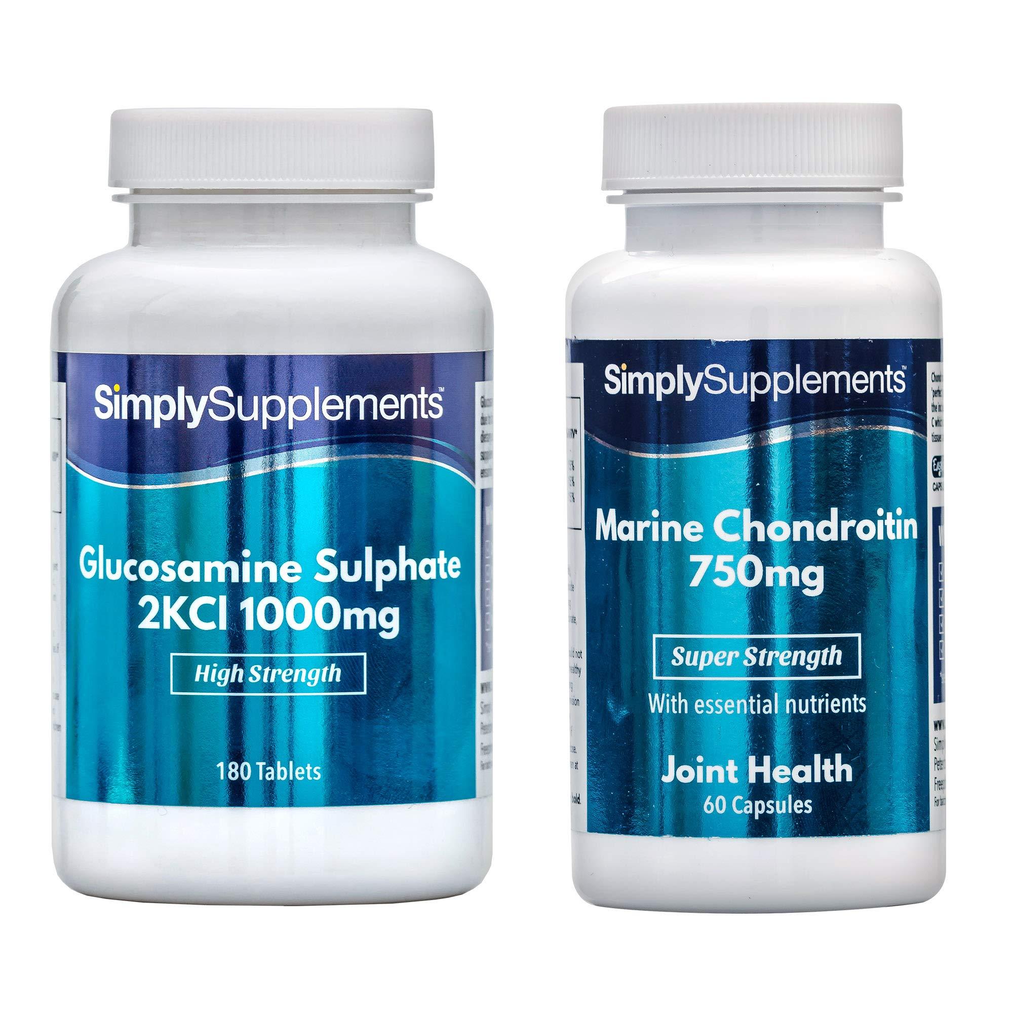 Glucosamine 1000mg & Marine Chondroitin 750mg