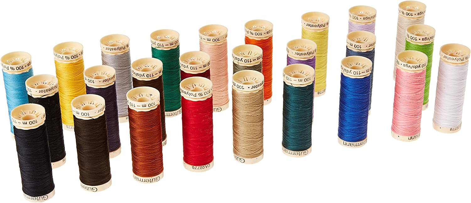The best thread for quilting and sewing-Guttermann Spool Thread Box