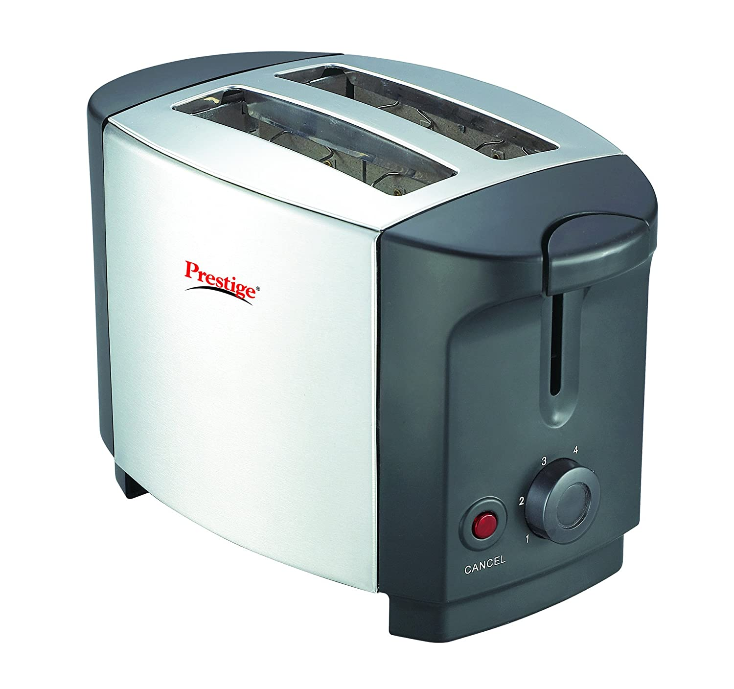 Buy Prestige PPTSKS 750 Watt Pop Up Toaster Silver Black Online At Low Prices In India