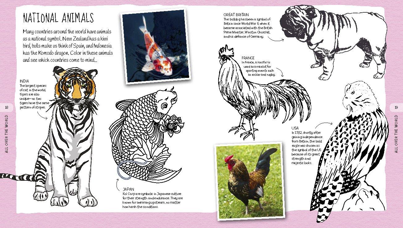 Colorpedia Samantha Hilton 9781784282073 Amazon Books