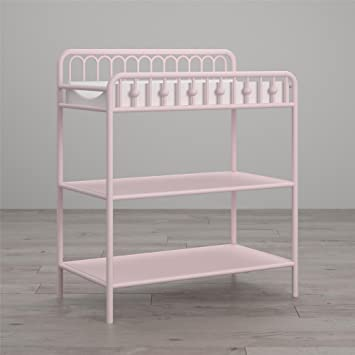 Little Seeds Monarch Hill Ivy Metal Changing Table, Pink