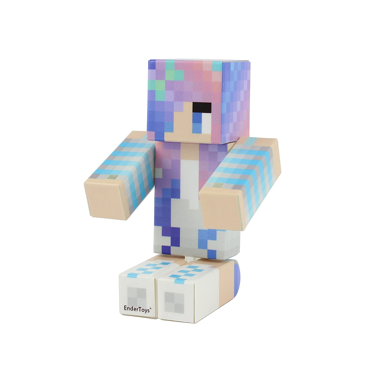 EnderToys Winter Girl Action Figure Toy 4 Inch Custom Series Figurines Seus Corp Ltd.