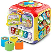 VTech 80-183461 Sort and Discover Activity Cube (Frustration Free Packaging), Great Gift For Kids, Toddlers, Toy for…