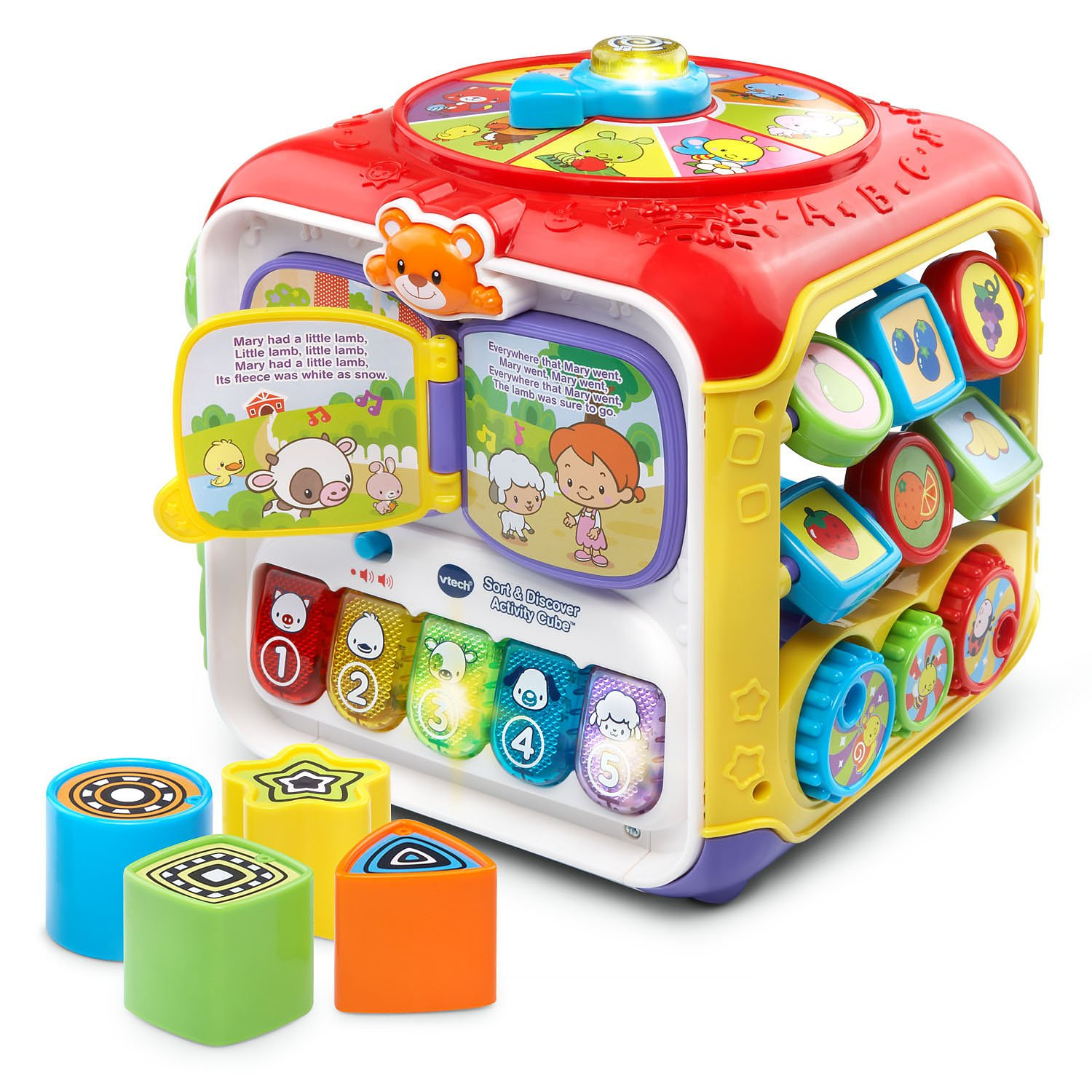 Amazon VTech Sort & Discover Activity Cube Frustration Free