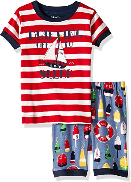 New Hatley Boys Surfboard PJ Set Top /& Shorts sz 5,7,8,10