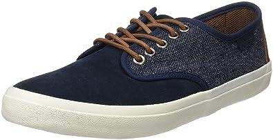 Springfield Sneaker Combinado Ante, Zapatillas para Hombre, Azul (Blue), 42 EU: Amazon.es: Zapatos y complementos