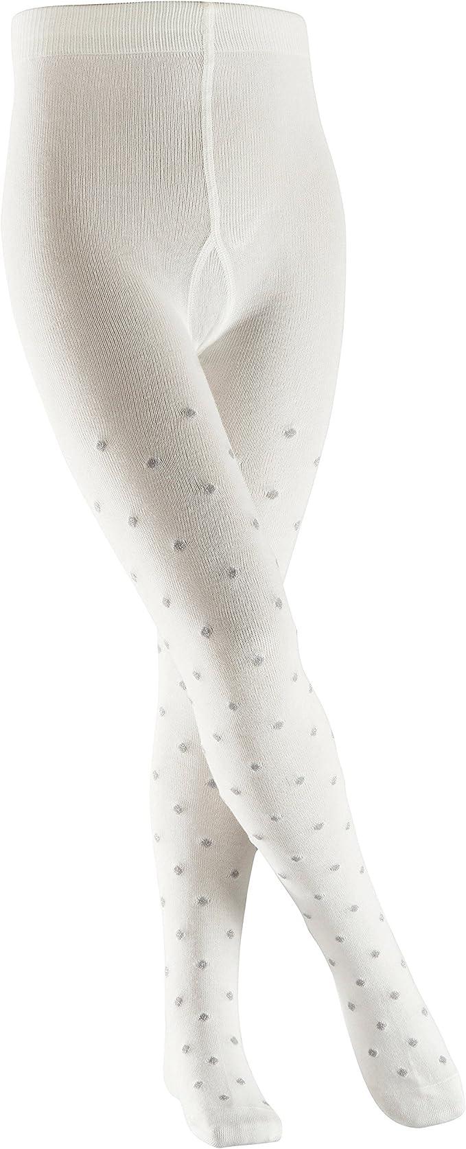 Farben pflegeleicht und hautfreundlich mit Glitzer und Punkten f/ür Kinder 81/% Baumwolle 1 St/ück Gr/ö/ße 80-164 Versch FALKE Kinder Strumpfhosen Glitter Dot