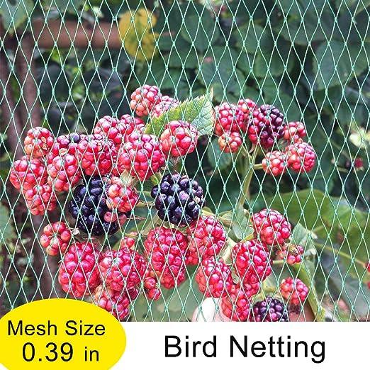 Agfabric EZ-Barrier - Red para pájaros de jardín anudada para ...