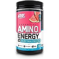 OPTIMUM NUTRITION ESSENTIAL AMINO ENERGY + Electrolytes, Watermelon Splash, 30 Servings