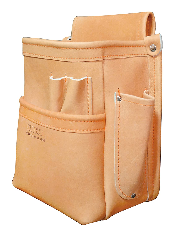 KNICKS(ニックス) KN-201DDSP 総グローブ革2段腰袋