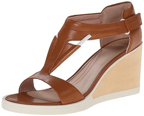 090d1b30b5f Camper Women s Limi T Strap Wedge Sandal