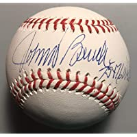 $145 » Johnny Bench Autographed Signed 75+76 Ws Champs Cincinnati Reds MLB Baseball With JSA