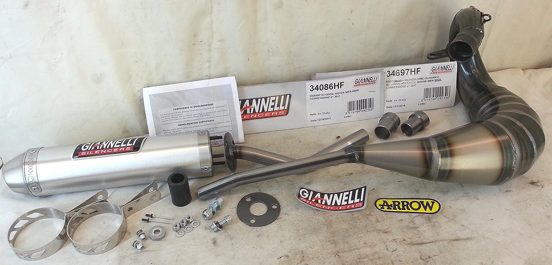 marmitta GIANNELLI espansione FANTIC MOTOR 50ER - 50MR 2T '2017 completa