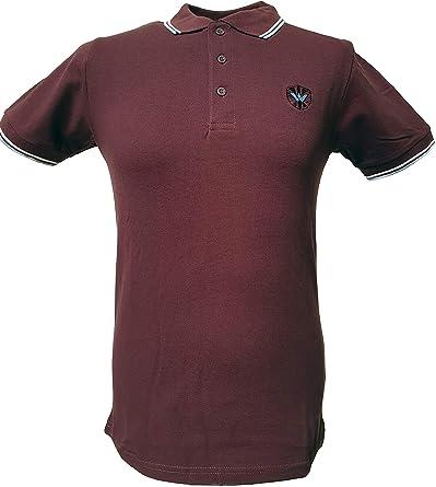 Warrior Mens Burgundy Keep the Faith Polo Shirts Small to 4XL …
