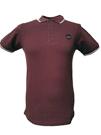 Warrior England UK - Polo de piqué para Hombre (Punta Doble ...