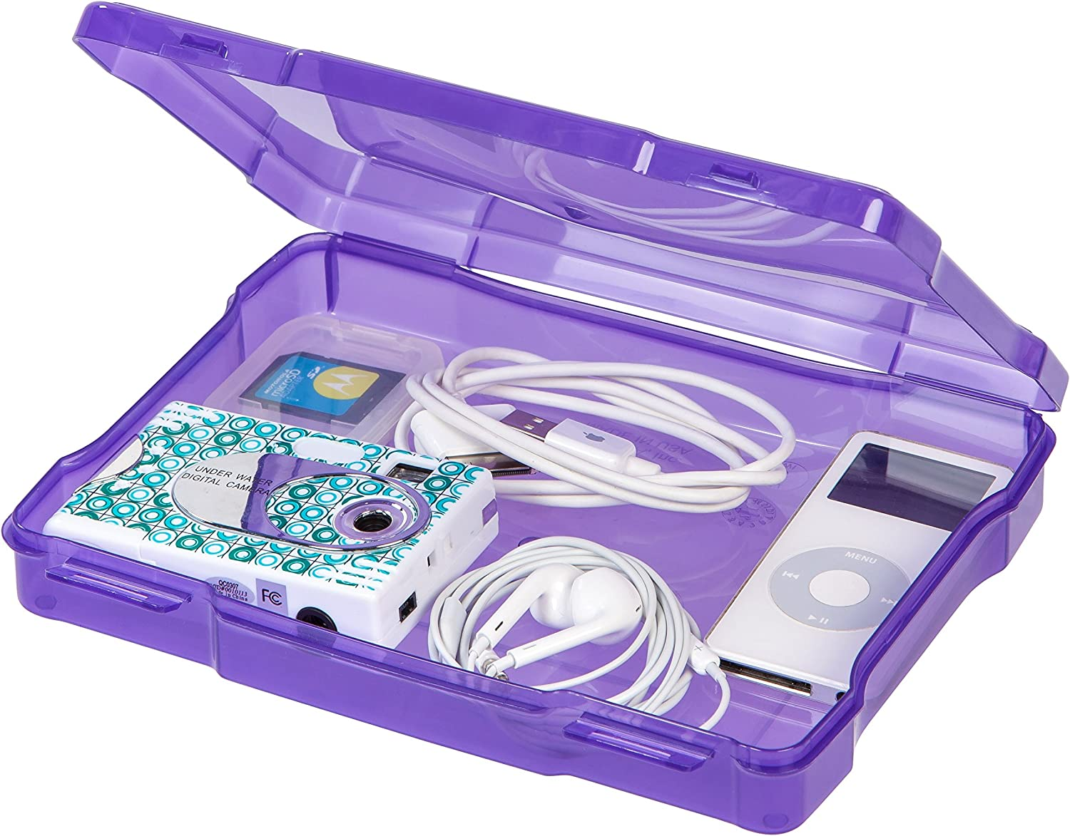IRIS 5 x 7 Photo and Embellishement Craft Case Assorted Colors