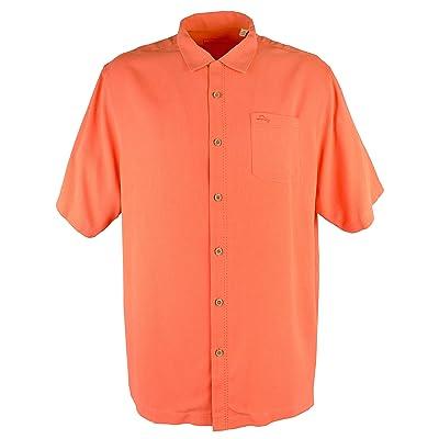 Men's Big &Tall Royal Bermuda IslandZone Camp Shirt: Tommy Bahama: Clothing