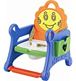 BabyGo Foldable Removalble Kids Smiley Toy Potty Training Seat Toilet Trainer (Multicolor)
