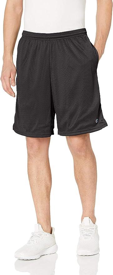 Champion Men's Long Mesh Short with Pockets   Amazon