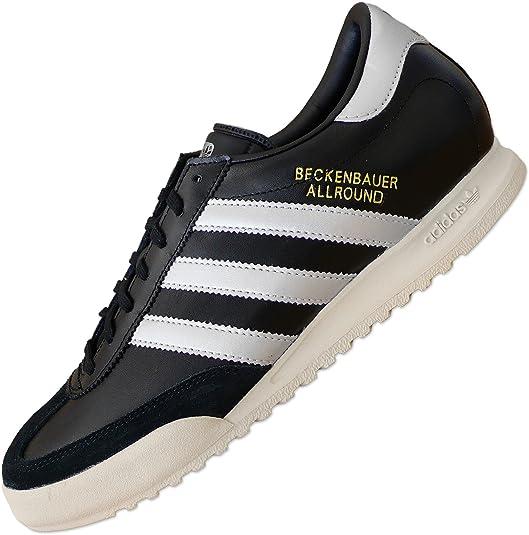 Adidas Beckenbauer Black UK 10.5 EUR 45 13 CM 29
