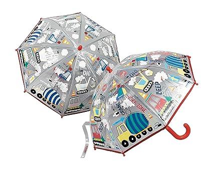 Floss & Rock - Paraguas de construcción Que Cambia de Color