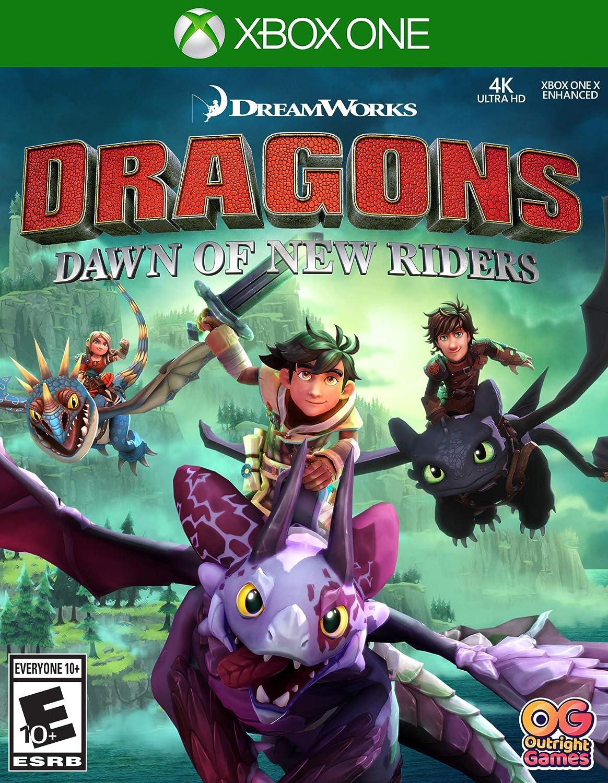 Amazoncom Dragons Dawn Of New Riders Xbox One Bandai Namco