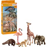 SCHLEICH Wild Life Assorted Wild Life Animals Educational Figurine for Kids Ages 3-8
