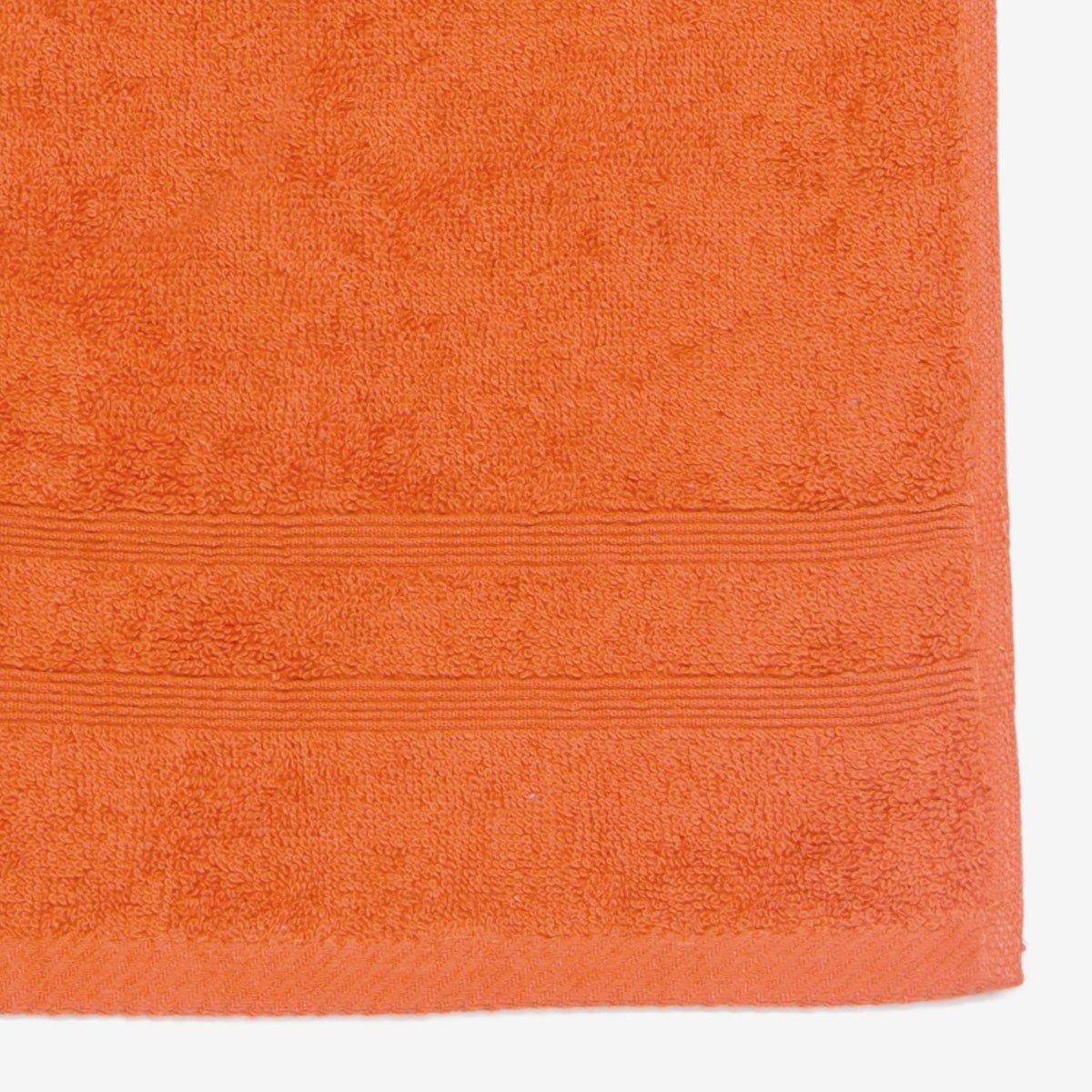 100/% Algod/ón rizo 30x50 cm Sancarlos Densidad 500 gr//m2 Toalla lisa de tocador MARE Color Coral