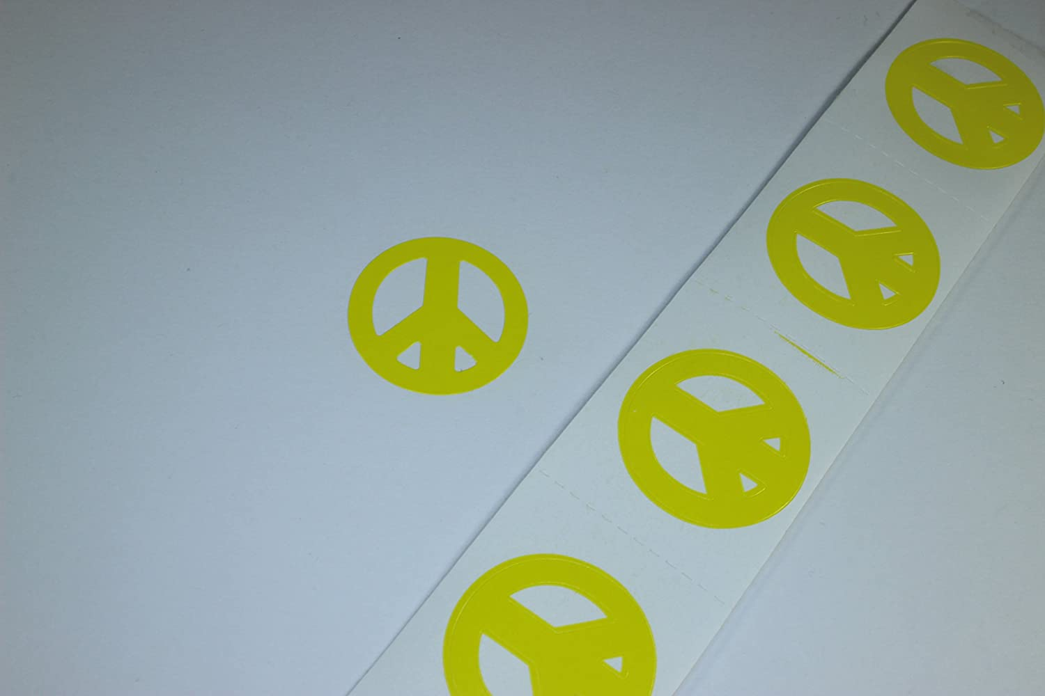Amazon com peace sign tanning bed stickers 100 pack sunscreens and tanning products beauty