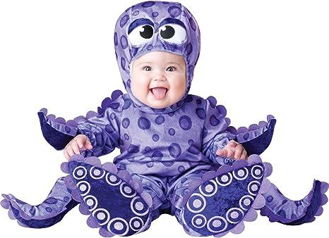 Disfraz de pulpo con tentáculos pequeños de lujo para niño pequeño ...