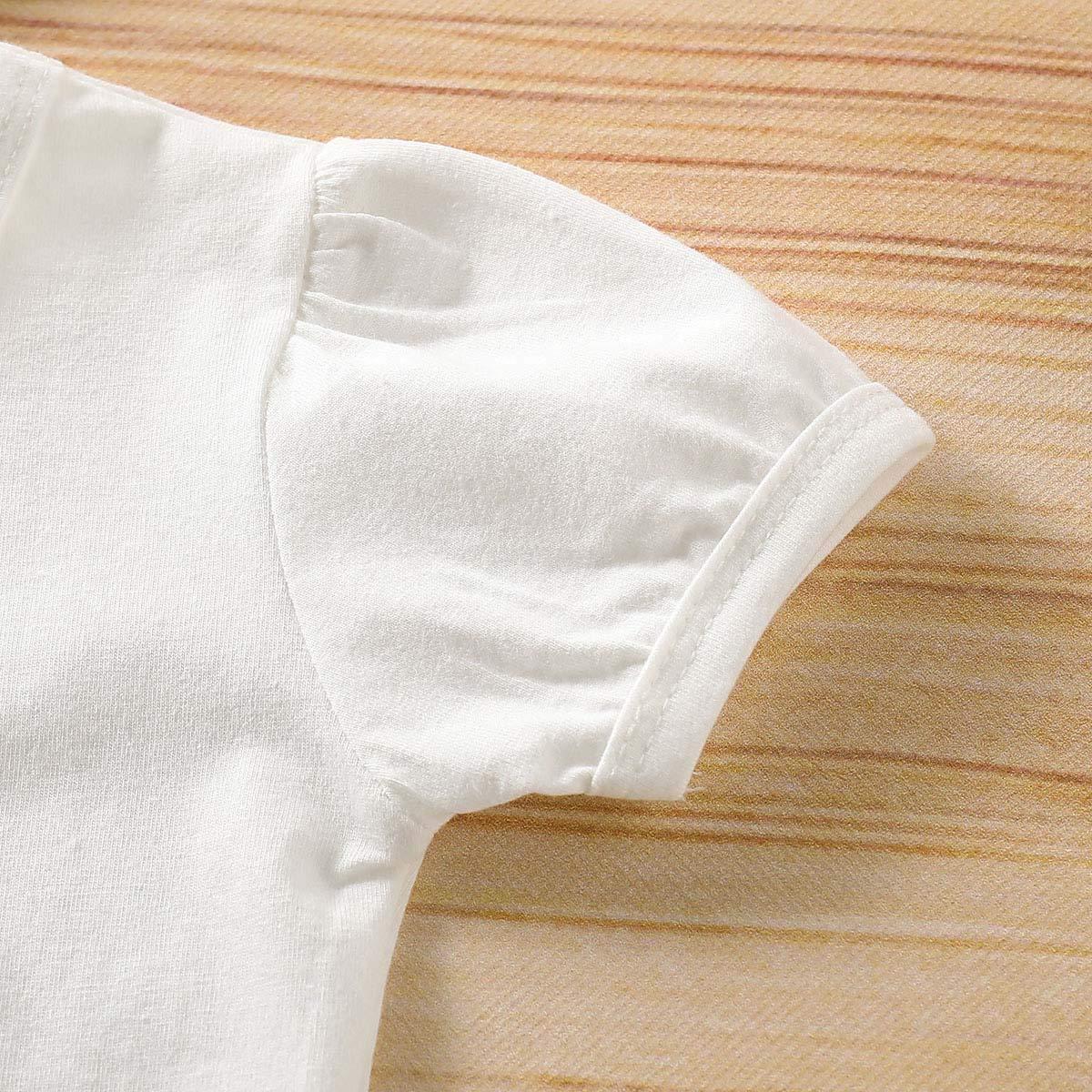 Big Little Sister Bodysuit Letter Romper Floral Skirt Shorts Headband Outfit Set