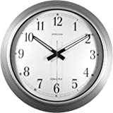 Timekeeper Products LLC 16-Inch Round Galvanized Metal Wall Clock