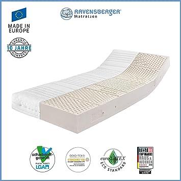 Ravensberger - colchón con 7 Zonas de látex y con Certificado Oeko-Tex látex H3 RG 65 (80-120 kg) Medicott-SG, 140 x 200 cm: Amazon.es: Hogar
