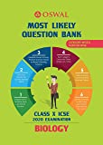 Most Likely Question Bank for Biology: ICSE Class 10 for 2020 Examination