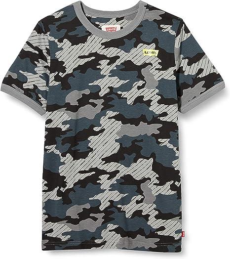 Levis kids Lvb Ss Graphic Ringer Te Shirt Camiseta para Niños: Amazon.es: Ropa y accesorios