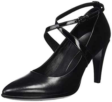 6c4973b2faf6 Ecco Damen Shape 75 Pointy Pumps, Schwarz Black, 41 EU  Amazon.de ...