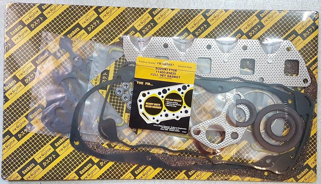 Engine Overhaul Gasket Full Set Suzuki F10A Carry Sierra Rascal SC100 SJ410 1.0 Litre GoldenGear