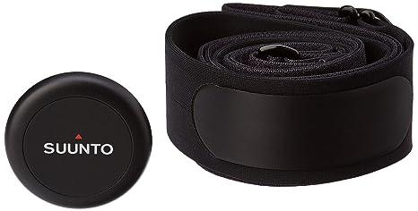 Suunto - Smart Sensor HR Black - Módulo Sensor de frecuencia cardiaca + Cinturón negro - Talla M
