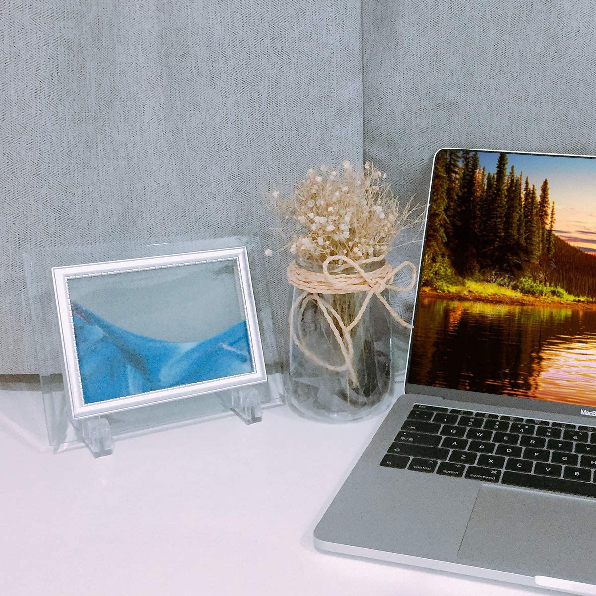 Medium Size 7x9 Sand in Motion blue Moving Desktop Art Coitak Sandscape Dynamic Sand Picture