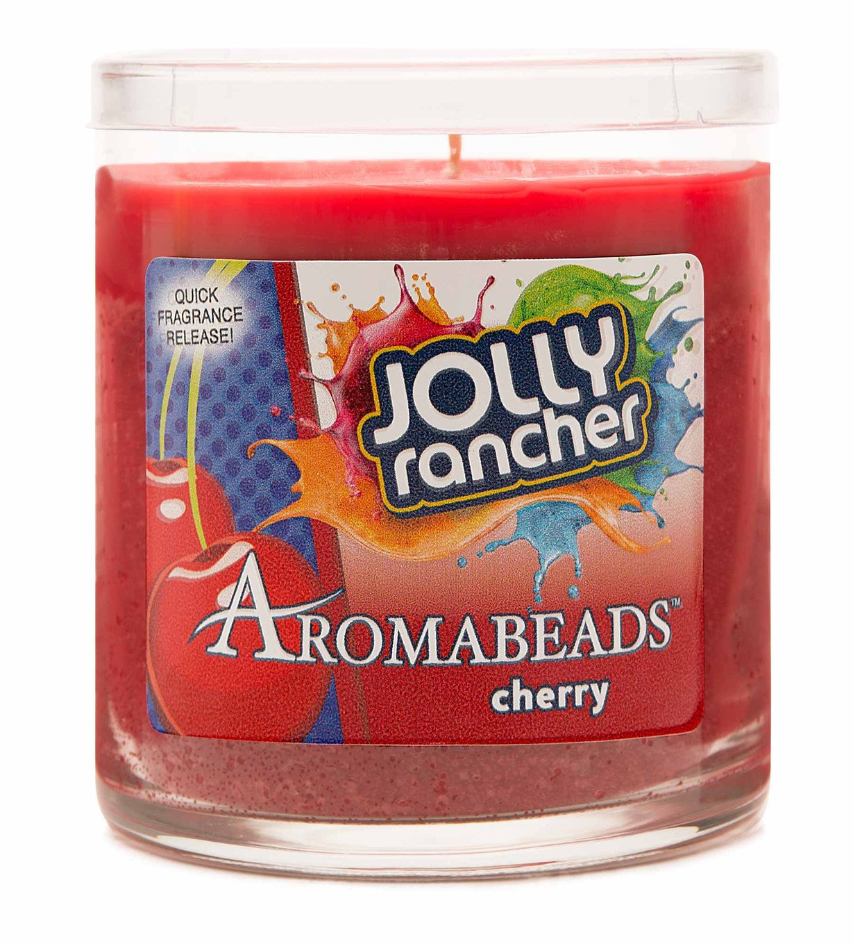 Hanna 's Aromabeads 6oz Hershey 's Candy Scented Candle レッド B01MZ0NWHR Jolly Rancher - Cherry Jolly Rancher - Cherry
