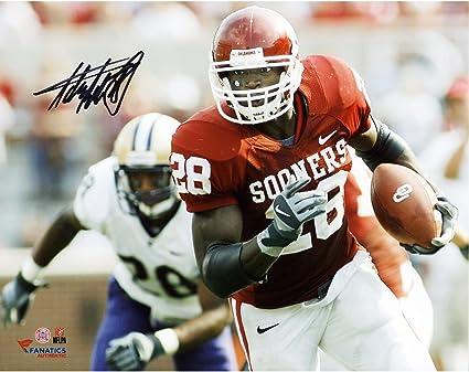 Adrian Peterson Oklahoma Sooners Autographed 8