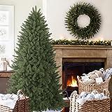 Balsam Hill Vermont White Spruce Narrow Premium Artificial Christmas Tree, 6.5 Feet, Unlit