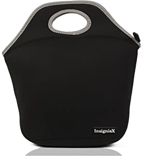 Neoprene Lunch Bag: Insignia Mall Insulated Lunch Tote For Men, Women, Girls,