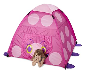 Melissa u0026 Doug Sunny Patch Trixie Ladybug C&ing Tent  sc 1 st  Amazon.com : patch tent - memphite.com