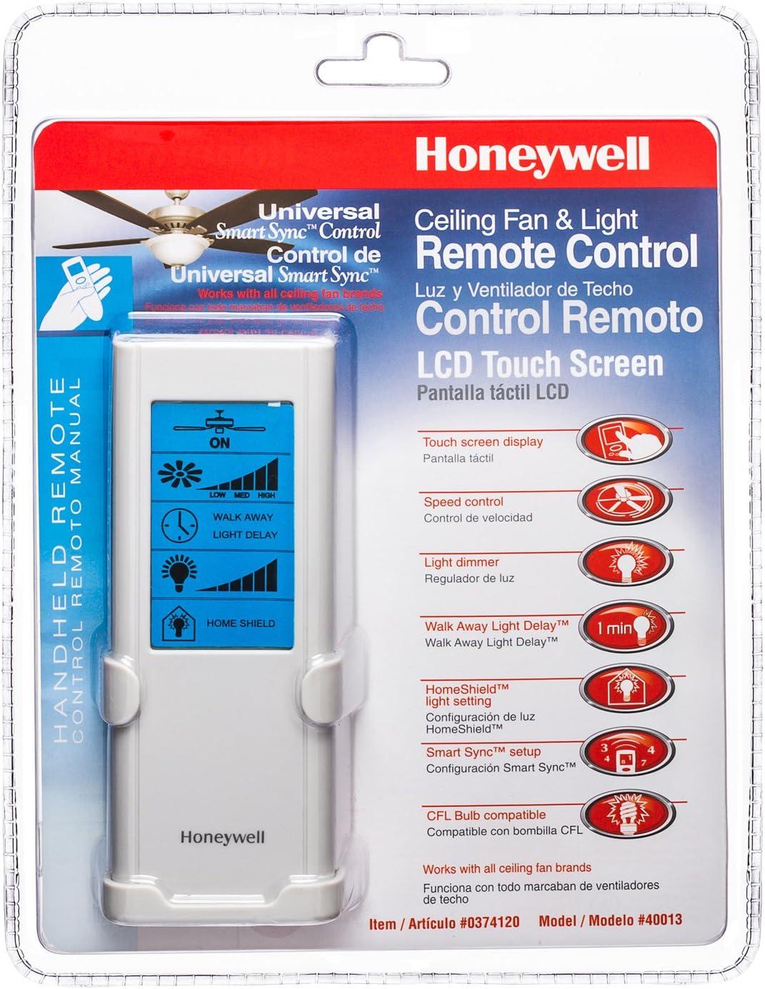 Honeywell ventiladores de techo 40013 – 01 LCD pantalla táctil ...