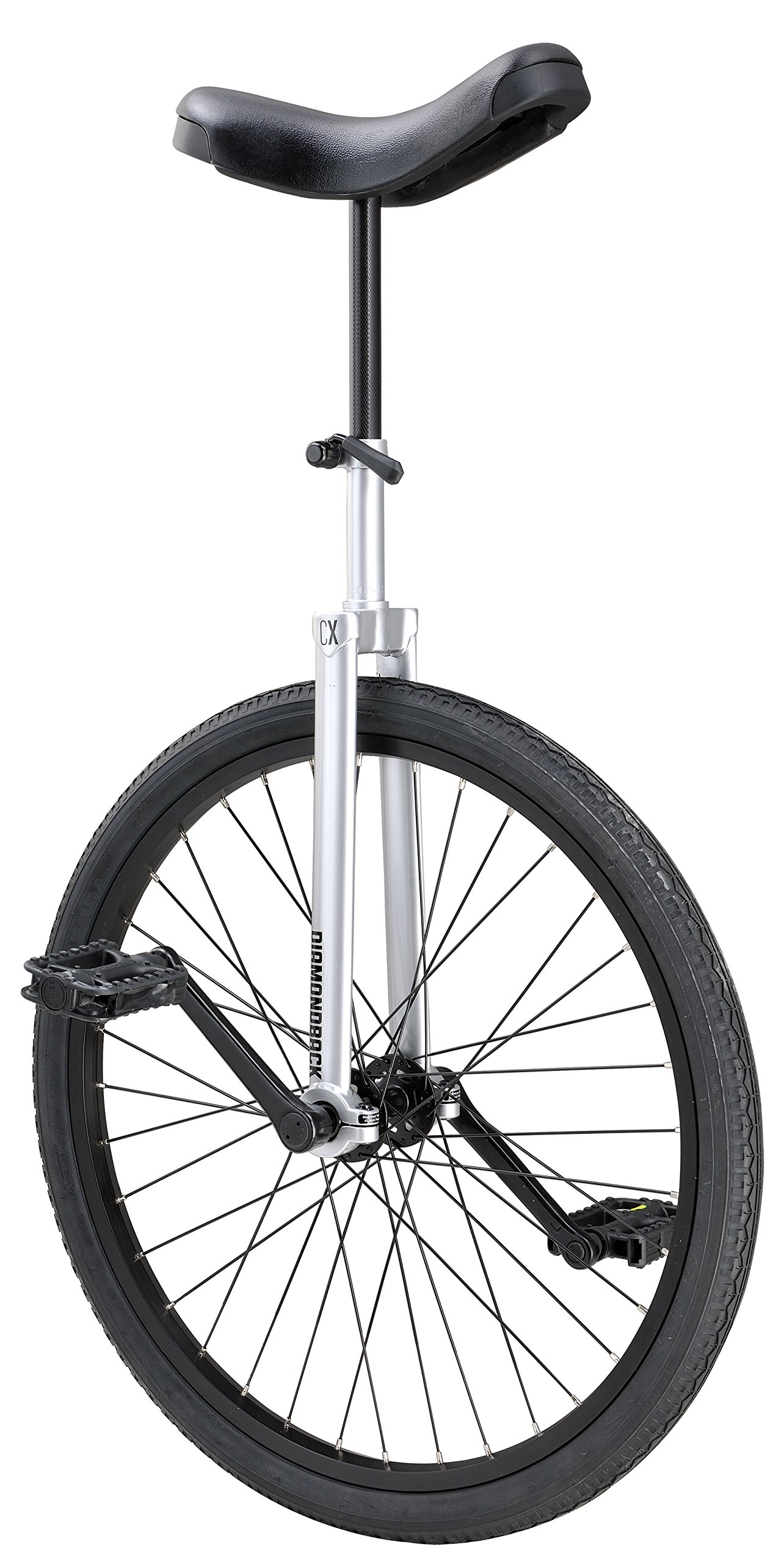 Diamondback Bicycles CX Wheel Unicycle, Chrome/Painted, 24''/One Size by Diamondback Bicycles