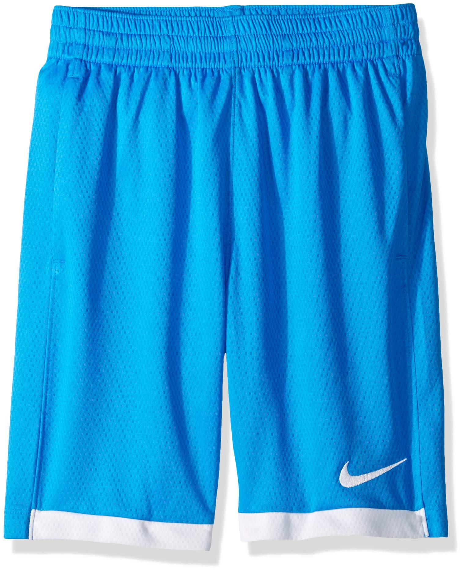 Nike Boy's Dry Short Trophy, Photo Blue/White/White, X-Small