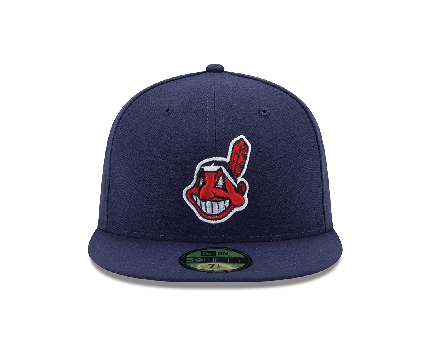 d7958574 New Era 59Fifty MLB Cleveland Indians Alternate 2 On Field Fitted Hat