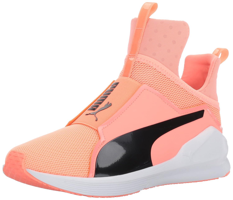 PUMA Women's Fierce Core Cross-Trainer Shoe B01MZ0ET56 9.5 M US|Nrgy Peach-puma Black